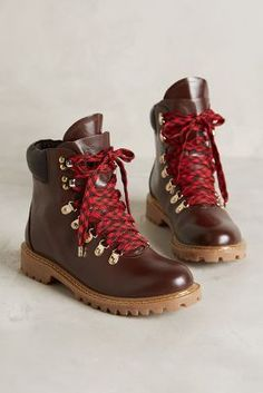 Joie Norfolk Hiker Boots Brown Boots #anthrofave #anthropologie