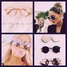 Trend 2017 round glasses or sunglasses