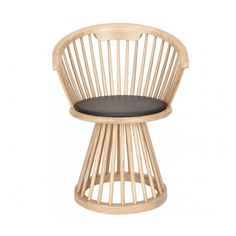 Fan Dining Chair - Natural Oak by Tom Dixon