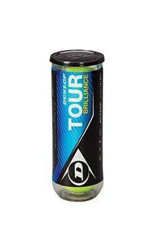 Dunlop Tour Brillance - Pelotas de tenis, 3 unidades #pelotas #tenis
