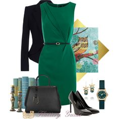 """Elaine"" by flattery-guide on Polyvore"