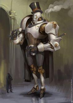 """emporioefikz: """"Robot by Bjorn Hurri """""""
