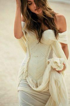 Jean Paul gaultier wedding dress