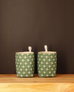 Umzi Fabric Storage Basket - Light Green - $12.95 #homedecor #fabricbasket #homestorage