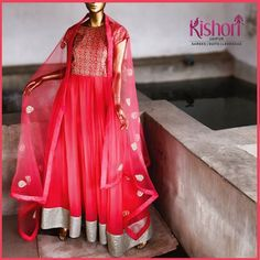 ‪#‎Kishori‬ ‪#‎BrightSummers‬ #suits #Indowesterns Stay updated with the bright and summery ethnic wear collection from Kishori.