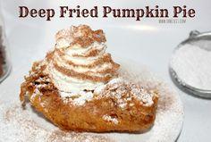 Deep Fried Pumpkin Pie
