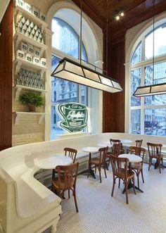 Ralph Lauren Coffee Shop in New York