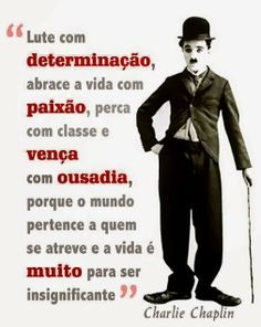 "Mensagem - ""Charlie Chaplin"""