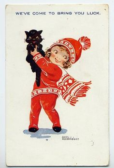 "AGNES RICHARDSON Vintage Winter -  Also see ""Christmas Images"" board."