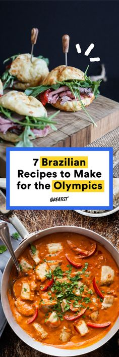 There are few things more satisfying than going to town on a big piece of cheese-stuffed bread while watching other people play sports. #healthy #Brazilian #recipes http://greatist.com/eat/brazilian-recipes-that-are-surefire-winners