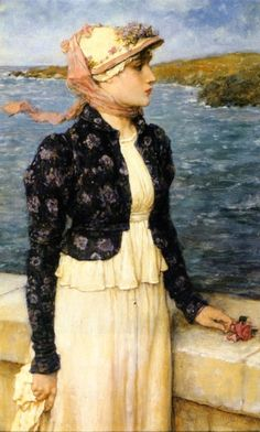 The Sea Breeze, George Henry Boughton