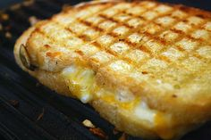 Grilled cheese with green chilis, a must make