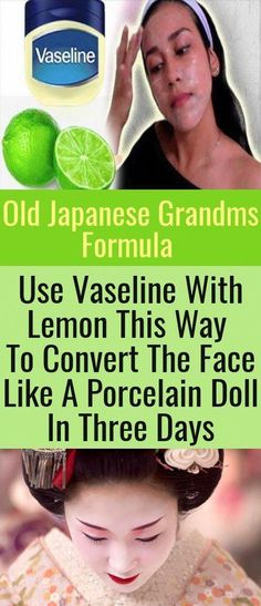 Old Japanese Grandms Formula, Use Vaseline With Lemon This Way To Convert The Face Like A Porcelain Doll In Three Days - Fancista Black Spots On Face, Brown Spots On Hands, Age Spots On Face, Spots On Legs, Skin Spots, Dark Spots, Yorkshire, Sunspots On Face, Spots On Forehead