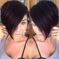 #nothingbutpixies #pixie #shorthair #purplehair #violethair #bob