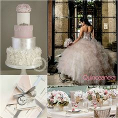 Dusty Rose Pink Quince Theme | Quinceanera Ideas |