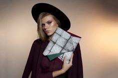 Georgina Skalidi Clutch Bags, Fabric, Design, Fashion, Tejido, Moda, Tela, Fashion Styles