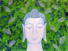 Noopur Parashar Acrylic Painting. Love and Romance, Nature, Religion and Spirituality Art - Buddha-1