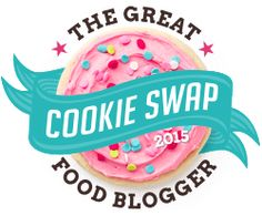 My Kitchen Kreations To You: The Great Food Blogger Cookie Swap 2015: Chocolate Candy Cane Cookies  #fbcookieswap
