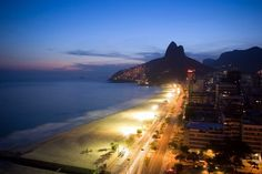 Leblon in Rio de Janeiro, Brasil.. One of the most amazingly beautiful places I have ever had the pleasure to see