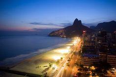 Río de Janeiro - Brasil | La playa de Leblon, otra buena opción para disfrutar de Rio | http://riodejaneirobrasil.net