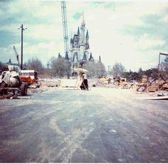 1970s and 1980s --- Photos of the consturction of Walt Disney World in Orlando - (20 Photos)
