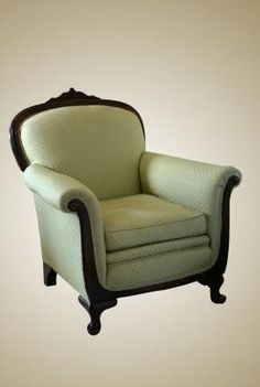 Look past the upholstery to a great chair.