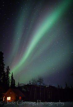 Aurora Borealis at Whitehorse, Canada