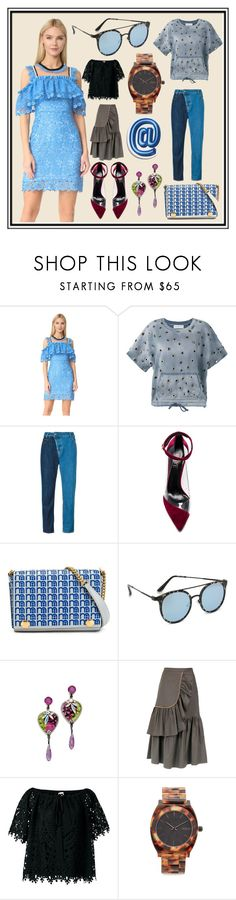 """New Fashion 2017"" by cate-jennifer ❤ liked on Polyvore featuring Three Floor, Faith Connexion, Vivienne Westwood Anglomania, Raye, Anya Hindmarch, Quay, Erickson Beamon, ADRIANA DEGREAS, Temperley London and Nixon"