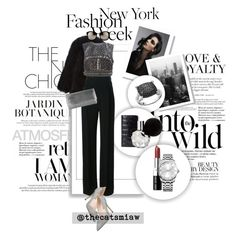 """""""Pack for NYFW! - Embellished"""" by belleforcible on Polyvore featuring Louis Vuitton, Anja, Givenchy, N+J Beverly Hills, Alberta Ferretti, SJP, Bobbi Brown Cosmetics, Judith Leiber, Calvin Klein and Linda Farrow"""