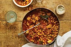 potaje de garbanzos (chickpea stew) is from The Cuban Table: A Celebration of Food, Flavors and History, text by Ana Sofia and photos by Ellen Silverman.