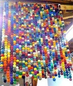The Yarn Ball On Display