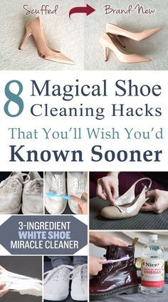 These are the most AMAZING SHOE CLEANING TIPS!! They'll make cleaning my shoes so much easier. Definitely pinning for later!!
