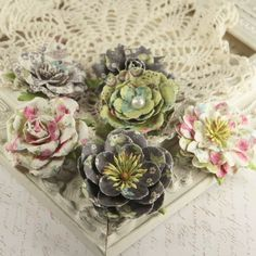 Prima Flowers Paloma Collection  Madeline  by LayoutsFromTheHeart, $4.89
