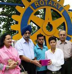 Rotary Club of Chandigarh: Rotarians gift life to farmer's son from Uttrakhan...