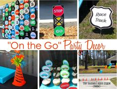 """The Homes I Have Made: """"On the Go"""" Party - Spotlight on Decor"""