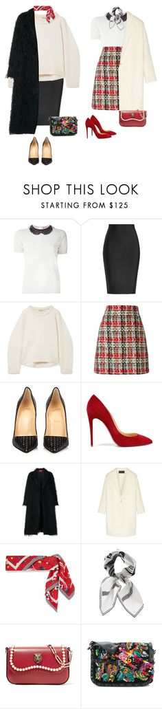 """Wreck less"" by audrey-balt ❤ liked on Polyvore featuring N°21, Roland Mouret, T By Alexander Wang, Gucci, Christian Louboutin, F.R.S For Restless Sleepers, Donna Karan, Marc Jacobs, Fendi and Valentino"