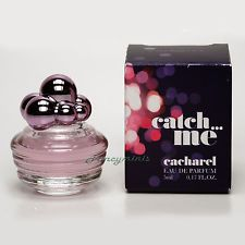 Cacharel CATCH ME Eau de Parfum 0.17 oz 5 ml Mini Perfume Miniature New in Box