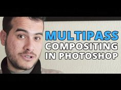 Multipass Compositing in Photoshop - Vray Render Elements - YouTube
