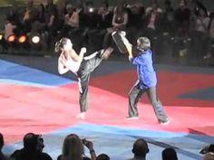 Chloe Bruce Kicking Insanity Budo Gala Zurich 2010 YouTube - YouTube