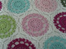 Pretty Hexagonal Squares with Circle in the Middle       Mein Foto