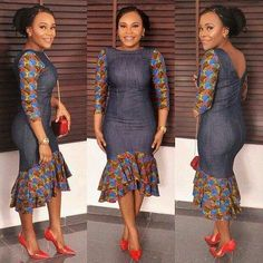 Most of us pick Ankara Styles that allow you freedom and comfort to sham around. Ankara styles for weekends arrive in many patterns and designs. It is your different to make behind it comes to selecting the absolute Ankara Styles for your occassion. African Fashion Ankara, African Fashion Designers, African Print Dresses, African Print Fashion, Africa Fashion, African Dress, Trendy Ankara Styles, Ankara Gown Styles, Ankara Gowns