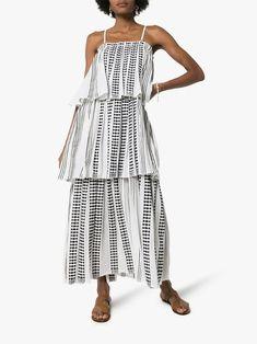 Rainforest Tropical Print Sleeveless Ruffled Bodice Dress fits American Girl