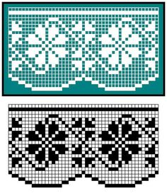 This Pin was discovered by cla Filet Crochet, Crochet Lace Edging, Crochet Borders, Knit Crochet, Machine Embroidery Projects, Embroidery Stitches, Embroidery Patterns, Stitch Patterns, Crochet Patterns