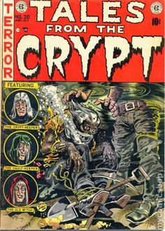 TALES FROM THE CRYPT 30, GOLDEN AGE EC COMICS