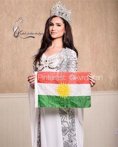 Miss Middle East 2016 -Kurdistan ❤️ Pinterest: @kvrdistan