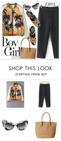 """""""Zaful"""" by teoecar ❤ liked on Polyvore featuring Boy Meets Girl, Sonia Rykiel and zaful"""