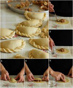 Empanadas argentinas con hojaldre casero. La receta al completo, con todo…