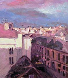 Richard Claremont: Rooftops in Marais