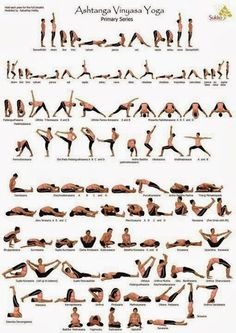 Yoga pose guide