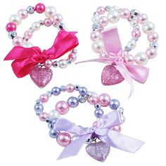 BCF-385 - Sparkle princess bracelet, a matching necklace also available.